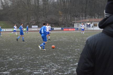 Das Spiel des Waldbadexpresses in Jöllenbeck fand als eine der wenigen Partien im gesamten Fußballkreis Bielefeld statt
