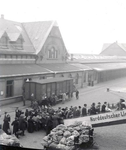 Einschiffung der Passagiere - Sammlung Henning Stoffers
