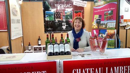 Vigneronne à Fronsac - Emmanuelle Bordeille