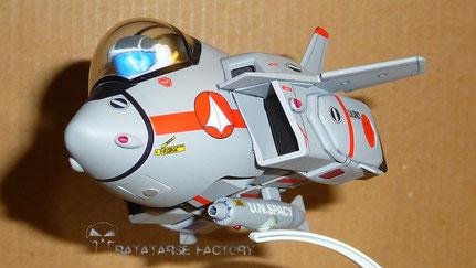 Super Deformed VF-1J Custom - Ratatarse Factory