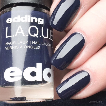 swatch edding L.A.Q.U.E. noble night blue 213