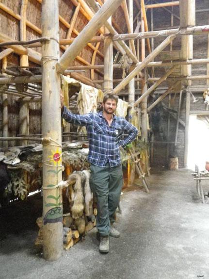 John c chez les Hurons au Canada ethnologie bushcraft
