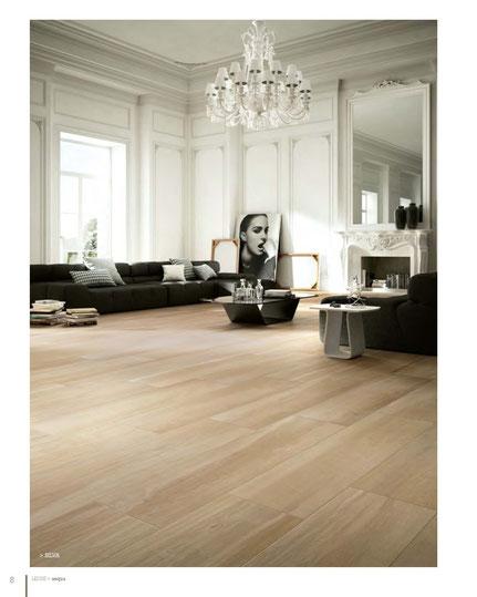 Pavimento effetto legno colore betulla 15x120