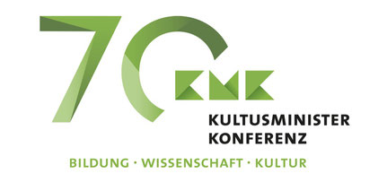 Das KMK-Feierlogo. Quelle: Screenshot der KMK-Website