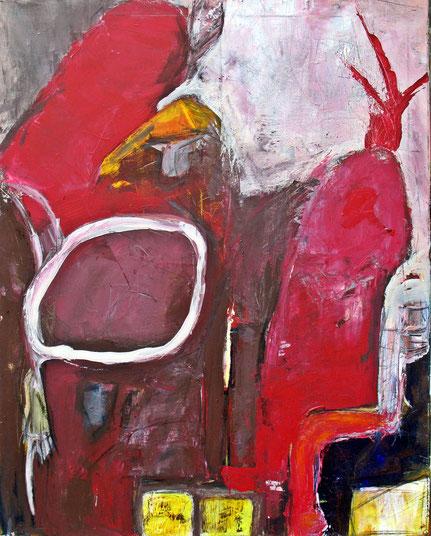 """Kasper"" Acryl auf Leinwand 80 x 110 cm"