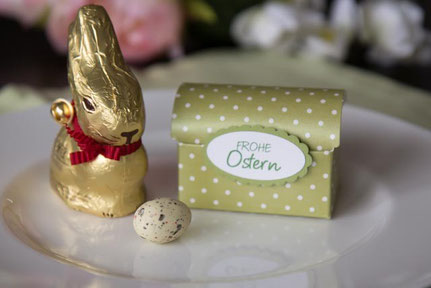 Geschenkschachteln zu Ostern
