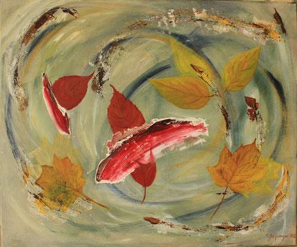 """""""Herbststürme"""" 50 x 60 cm"""