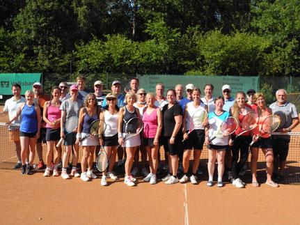 Tennis Vereinsmeisterschaften 2019 in Edemissen Abbensen Peine