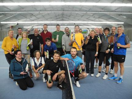 Tennis Hallenturnier der Florentiner aus Edemissen