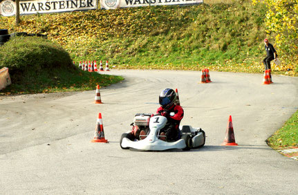 Andreas Prautsch mischte das Feld auf und schrammte nur knapp an Rang 3 vorbei..
