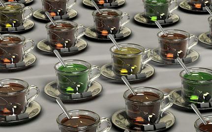 It's Teatime - Kräutertees für unser Wohlbefinden