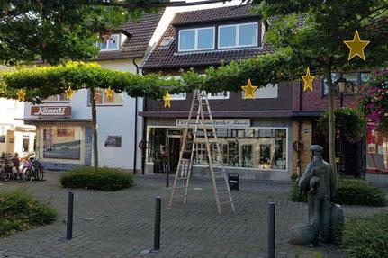 Sterne auf dem Roggenmarkt - Foto: Werne Marketing