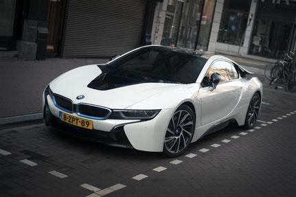 BMW i8 PC Hooftstraat Amsterdam