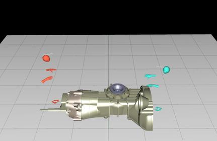 VR空間を共有しているイメージ図