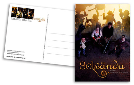 Carte postale Solvanda