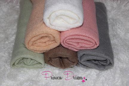 wunderschöne Wraps,Tücher bestens geeigent für die Newborn-Babyfotografie  zum Pucken, Einwickeln, Drüberlegen, oder als Hintergrund u.v.m.  kuschliges kuschelweich Strickwrap Neugeborenes Baby Neugeborenen Wrap Wrapping Pucken Tuch