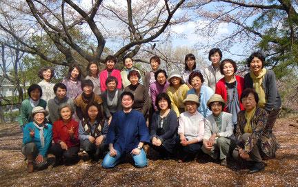 お花見  (ひなた村にて)  2013年4月4日