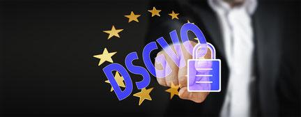 Datenschutzverordnung DGSVO einhalten und schätzen. Immobilien-Jost, Ihr Immobilienpartner für das Saarland und die Welt.