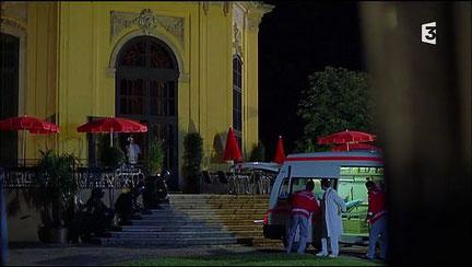"""Restaurant du zoo, lieu de la prise d'otages, saison 4 épisode 6 """"L'homme aux mille visages"""""""