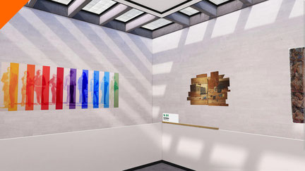 Realidad virtual WebVR. Proyecto White Cube para Veronika VR Solutions