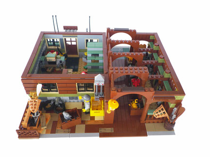 LEGO Modular Anton's Fish Market - Bricker & Co Unlimited