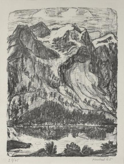Karl Lang Archiv Büsingen Erich Heckel, Museum Allerheiligen Schaffhausen