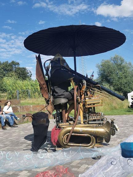 Steampunk Music Machine