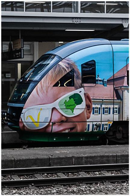 vogtlandbahn - Hbf Regensburg