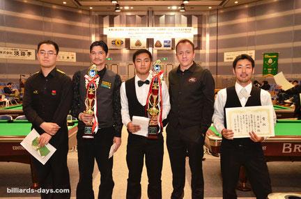 2015年『全日本選手権』ベストアマ表彰
