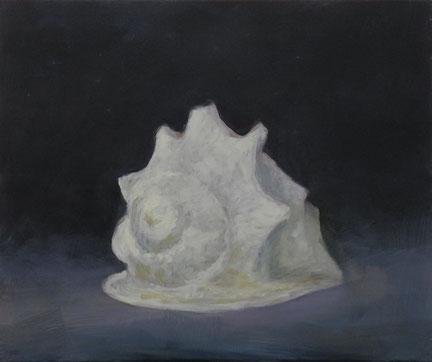 Muschel, Öl/Leinwand, 50 x 60 cm, 2018