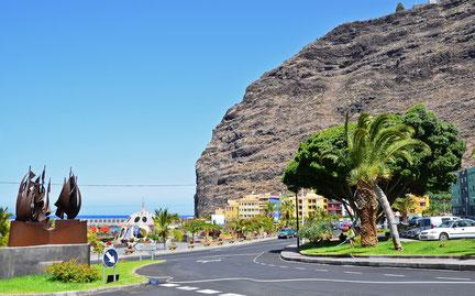 """Oben auf dem """"Berg"""" liegt der Aussichtspunkt  """"Mirador del Time"""""""