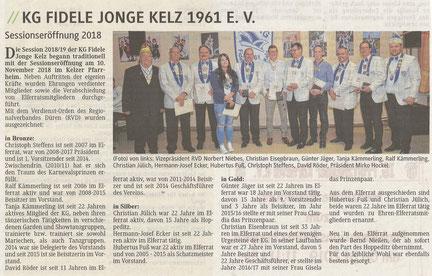 Mitteilungsblatt Gemeinde Vettweiß 16.12.2018