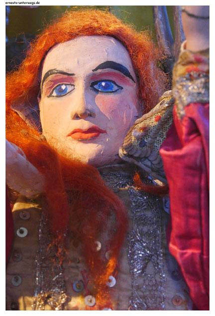 Eine Marionette im Kreismuseum Bad Liebenwerda