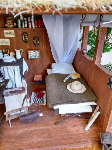 Miniatur Safari Lodge 1 zu 12