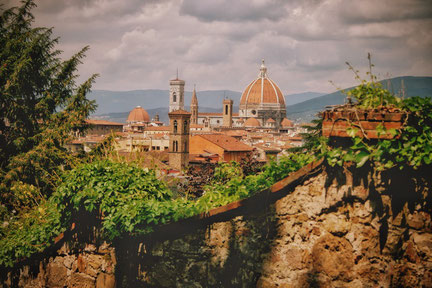 Italy Special Florence - view of the city skyline with Florentine dome