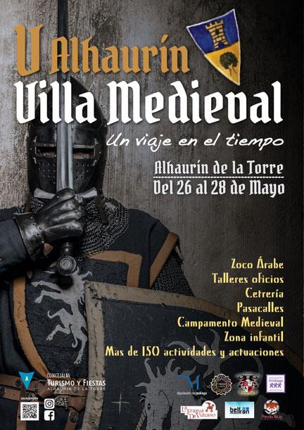 Programa del Mercado Medieval Alhaurín de la Torre