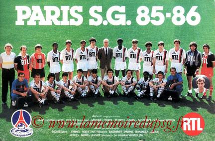 PSG 1985-86