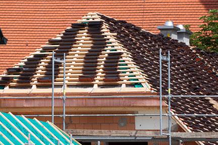 Dachdeckerarbeiten Umdeckungen, Neueindeckung