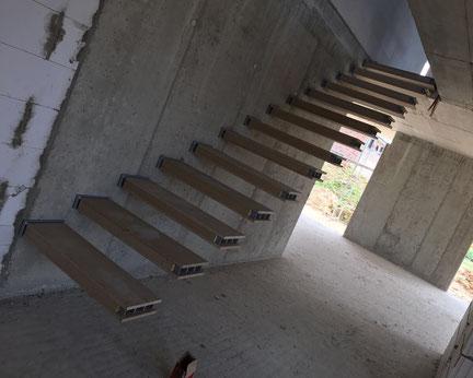 beton kragarm treppe nonnast raum beton design. Black Bedroom Furniture Sets. Home Design Ideas