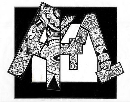Diseño logo Eva Fdez Almécija
