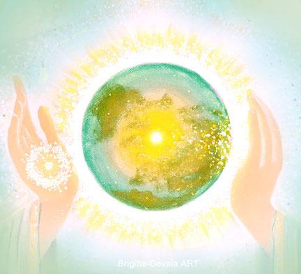 Brigitte-Devaia ART - Befreiung und Heilung für die Erde und alle Lebewesen