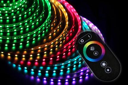 комплект светодиодной ленты rgb
