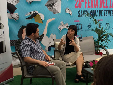 Pilar Adón y Daniel Bernal Suárez