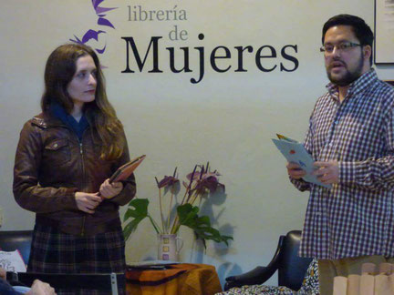 Belén Lorenzo y Daniel Bernal Suárez