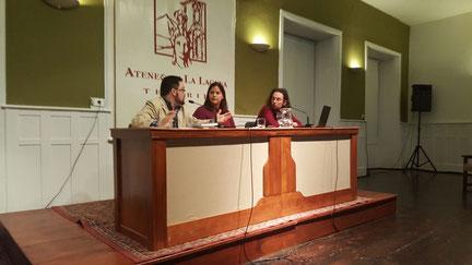 Sergio Barreto, Yurena González Herrera y Daniel Bernal Suárez