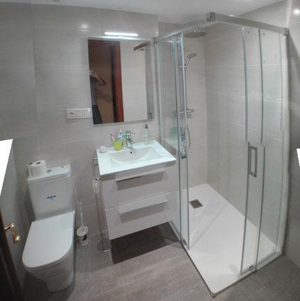 reforma de cuarto de baño San Sebastian