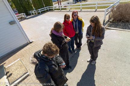 Formation de géocaching, Journée technique Branche Verte 2012