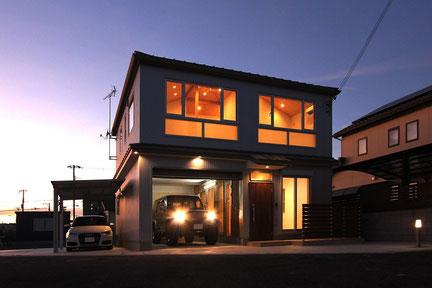 サスティナブルな家づくり ガレージハウス