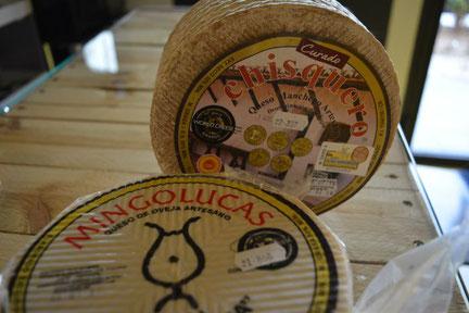 queso manchego en Valdepeñas