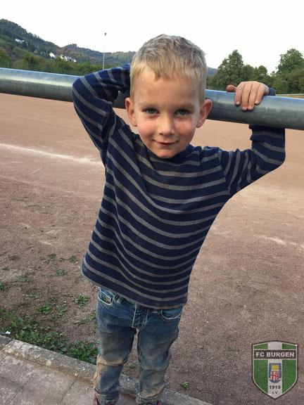 Neuzugang Hannes Geissler während dem Bambini-Elternabend